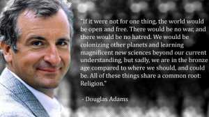 Douglas Adams on Religion